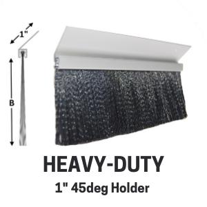 Heavy-Duty Brush - 1in 45deg holder