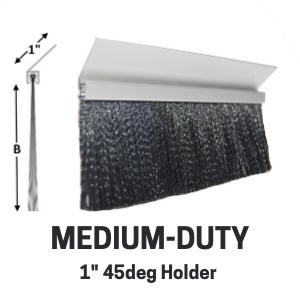 Med-Duty Brush - 1in 45deg holder