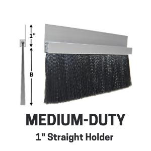 Med-Duty Brush - 1in straight holder