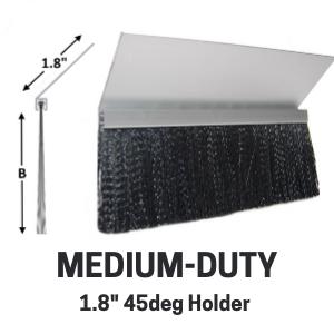Med-Duty Brush - 1.8in 45deg holder