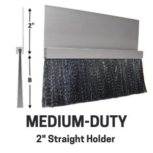 Med-Duty Brush - 2in straight holder