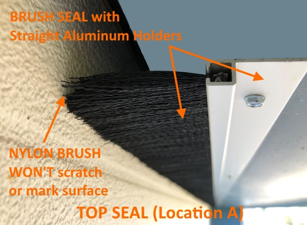 Brush Seal Location A