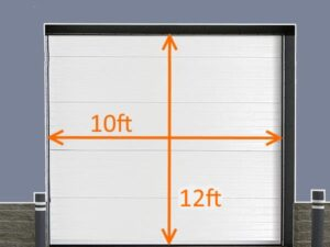 10x12 Brush Seal Kit Roll-up Door