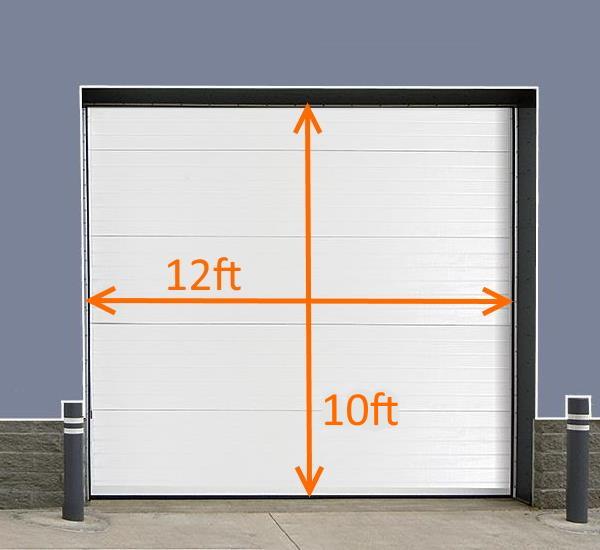 12x10 Brush Seal Kit Roll-up Door